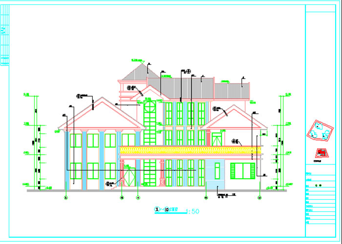 建筑手绘直线练习