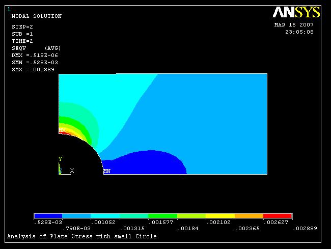 ansys结构静力分析 简单实例