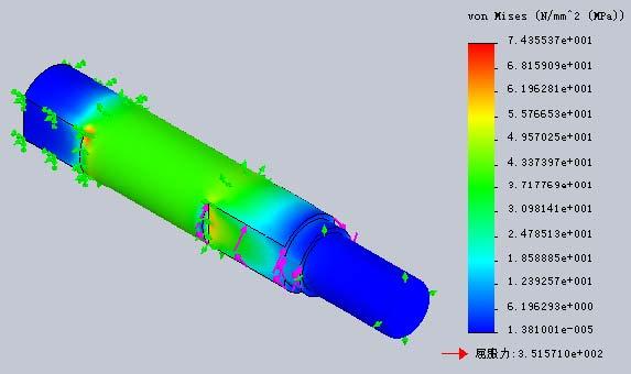 solidworks有限元分析(打气泵)样板