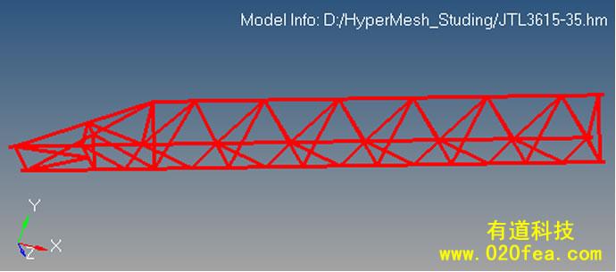 hyperMesh-1D网格划分