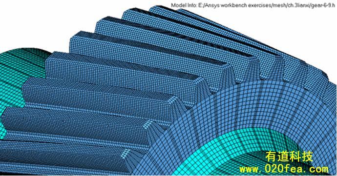 hyperMesh-3D网格划分