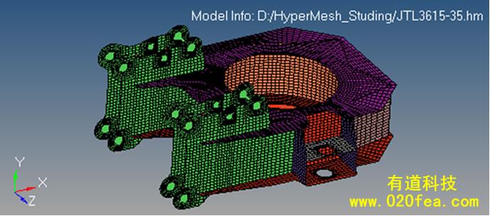 hyperMesh-2D网格划分